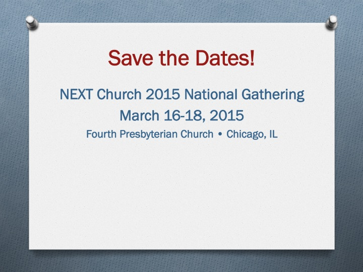 2015 save the date