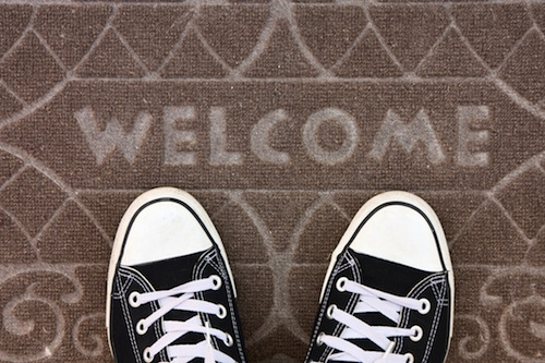 welcome sneakers copy