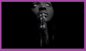 Image is a screen shot of Alicia Keys' We Gotta Pray