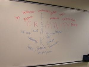 fear creativity crossroads